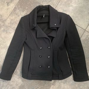 NAF NAF Double Breasted Lightweight Coat
